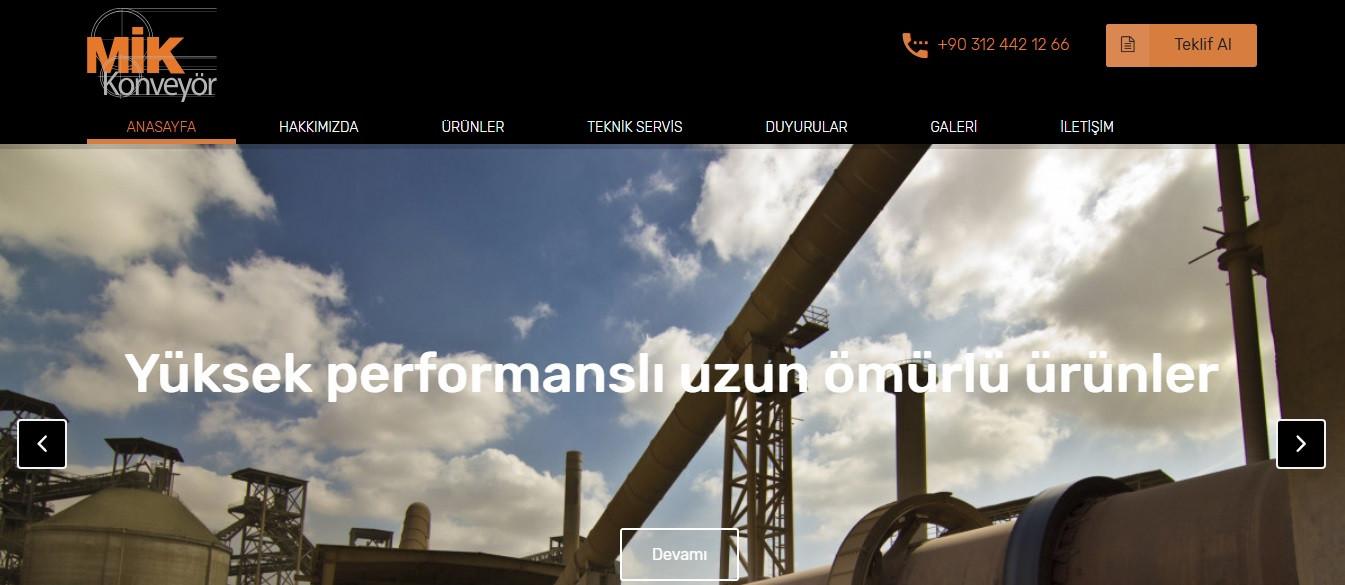 Yeni web sitemiz yayına girdi!
